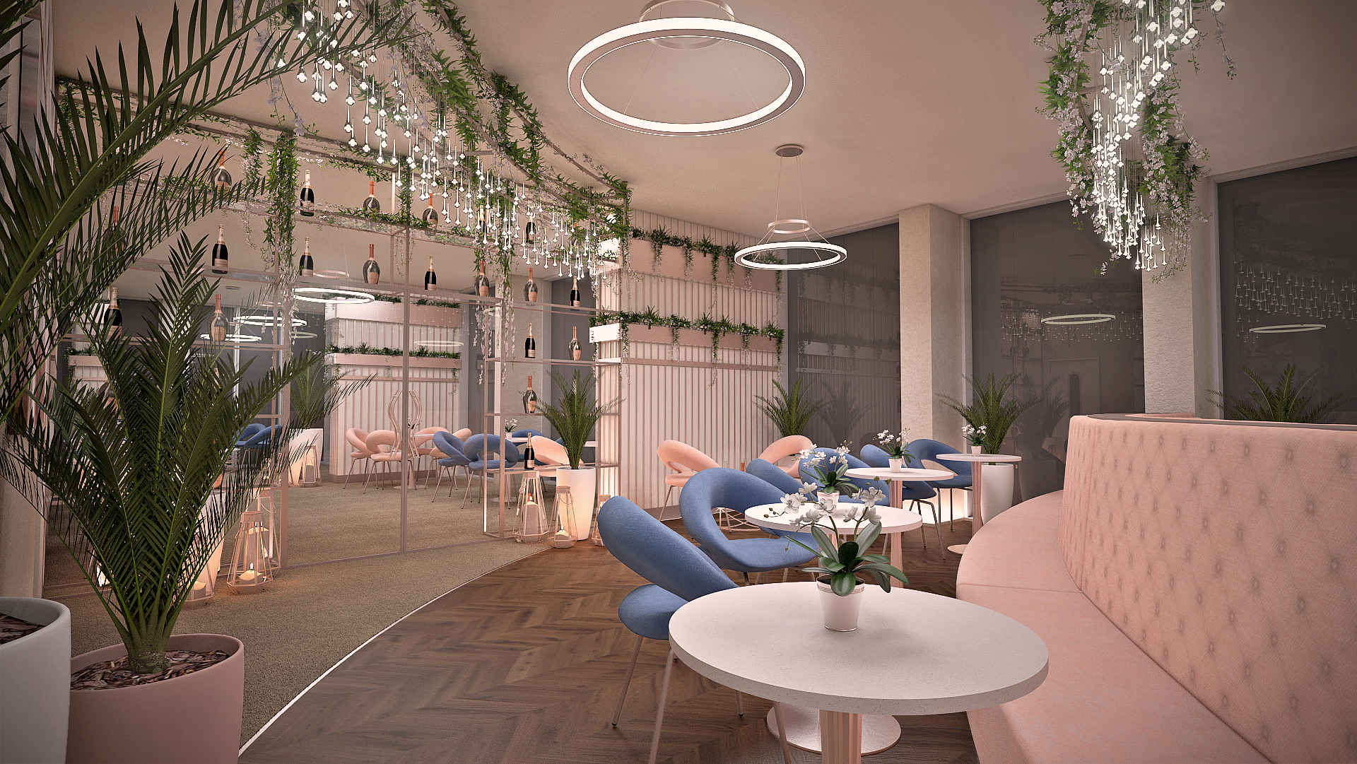 Exclusive access to the sky lounge at Hadrian's Tower