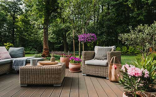 Outdoor Space at a Premium for Home Seekers
